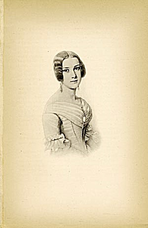 Vintage Print of A Victorian Woman (Image1)