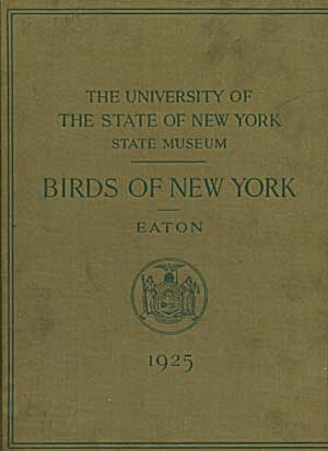 Birds Of New York Color Plates