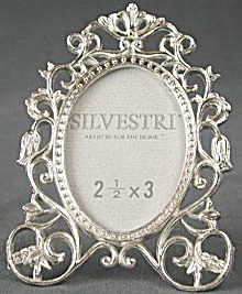 Picture Frame Metal Vine Scroll Design