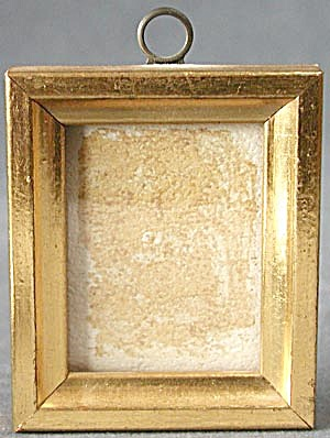 Vintage Small Wooden Picture Frames