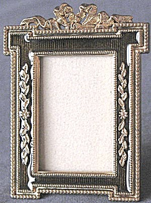 Black Amethyst Color Enamel Frame