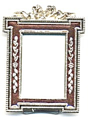 Copper Color Enamel Frame