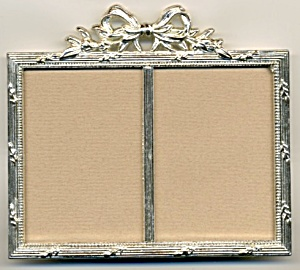 Metal Double Picture Frame