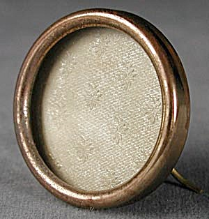 Antique Tiny Round Metal Frame