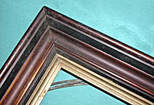 Victorian Wooden Picture Frame