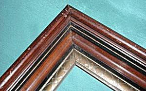 Vintage Wooden Picture Frame (Image1)