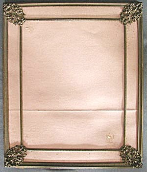 Vintage Metal Frame With Decoration