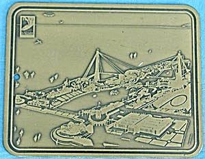 Chicago Century of Progress Exposition Pocket Mirror (Image1)
