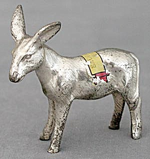 Vintage Metal Donkey From Saugatuck Mich.