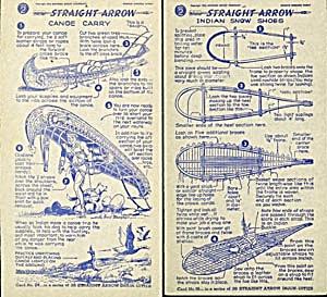 Shredded Wheat Straight Arrow Show Injun-Uity Cards (Image1)