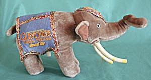 Gunther Gebel-Williams Farewell Tour Plush Elephant (Image1)