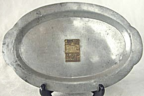 World's Fair Century Of Progress Pewter Tray