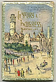 Century Of Progress Belgian Village Deck Of Cards