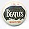 Vintage I'm A Beatles Booster Pinback Button