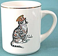 Vintage Chessie System Cat Coffee Mug Set Of 3