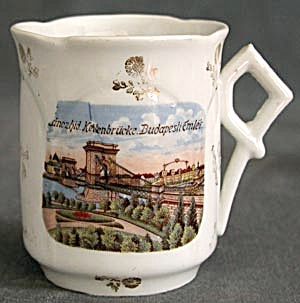 Antique Cup From Budapest