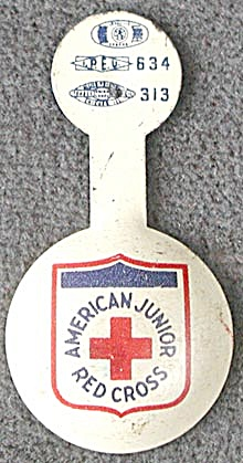 American Junior Red Cross Folding Badge
