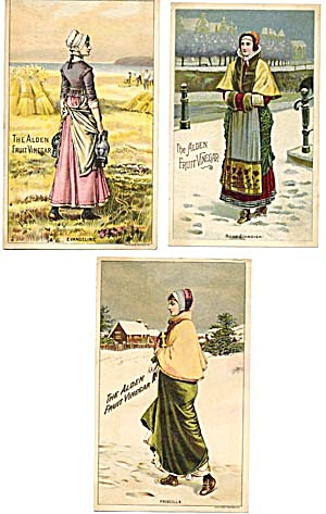 Vintage Trade Cards The Alden Fruit Vinegar