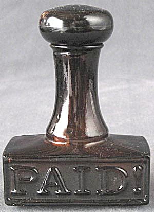 Vintage Avon Stamp Cologne Bottle