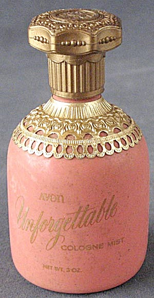 Vintage Avon Unforgettable Cologne Mist
