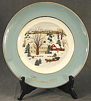 Wedgwood Christmas Plate 1973 (Image1)