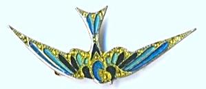 Vintage Flying Bird Pin (Image1)