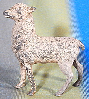 Vintage Cast Iron Fawn Bank (Image1)