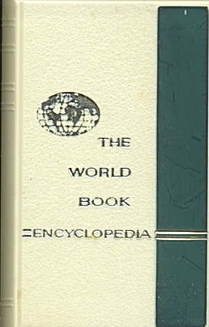 Vintage The World Book Encyclopedia Plastic Bank
