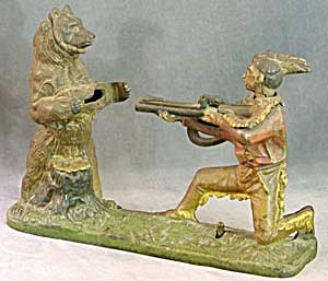 Vintage Indian and Bear Bank (Image1)