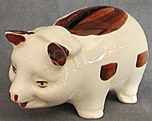 Vintage China Piggy Bank (Image1)
