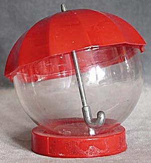 Vintage Advertising Red Umbrella Bank (Image1)