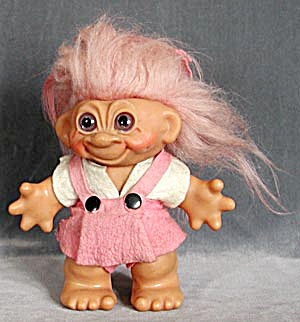 Vintage Large Girl Troll Bank (Image1)