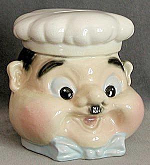 Vintage China Chef's Head Bank (Image1)