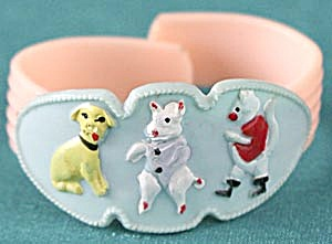 Vintage Child's Plastic Animal Bracelet (Image1)