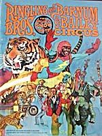 Vintage Ringling/Barnum Bailey Circus Program (Image1)