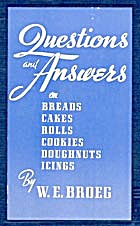 136 Questions And Answers On Breads, Cakes, Rolls,