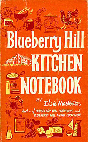 Blueberry Hill Kitchen Notebook