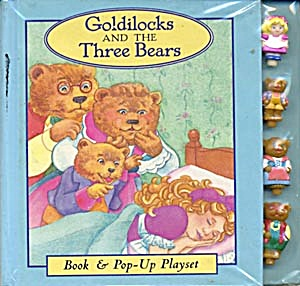 Goldilocks & the Three Bears Pop Up Play Set (Image1)