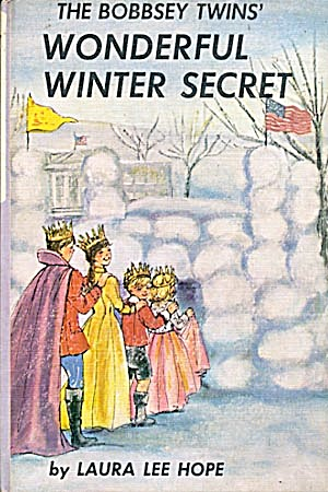 Vintage Bobbsey Twins Wonderful Winter Secret