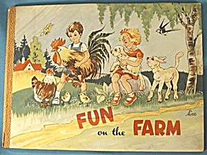 Vintage Childrens Books: Fun on the Farm (Image1)