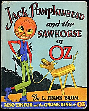 Vintage Jack Pumpkinhead & the Sawhorse of Oz (Image1)