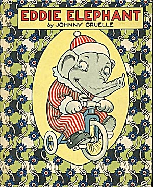 Vintage Volland Eddie Elephant By Johnny Gruelle