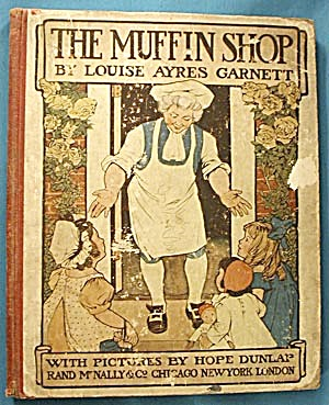 Vintage Cildren's Book: The Muffin Shop (Image1)