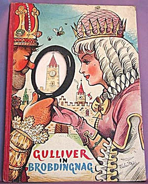 Vintage Children's Book: Gulliver in Brobdingnag (Image1)