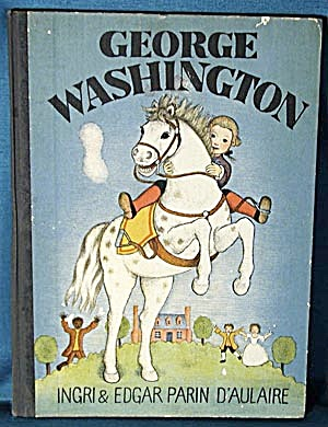 Vintage Children's Book: George Washington (Image1)