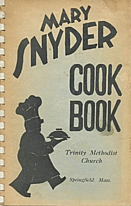 Mary Snyder Cookbook  (Image1)