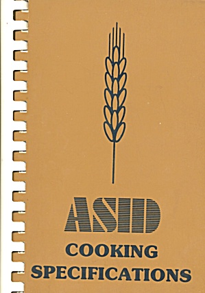Asid Cooking Specifications