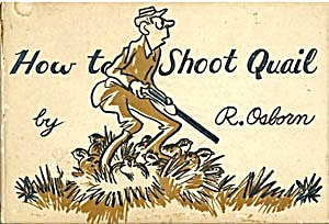 How To Shoot Quail