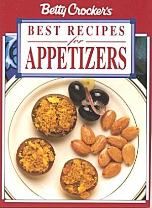 Betty Crocker Best Recipes for Appetizers (Image1)