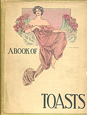 Antique A Book of Toasts (Image1)